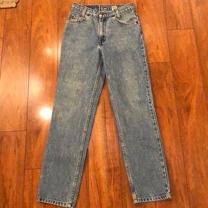 Vintage Levi's orange tab 505 student jeans 28x30